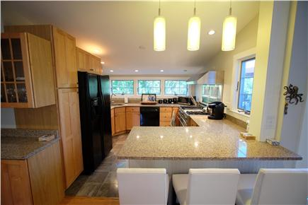 Provincetown Cape Cod vacation rental - Breakfast bar with seating for three