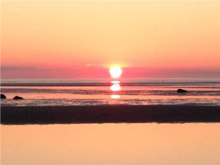 East Orleans Cape Cod vacation rental - Breathtaking sunset at Skaket Beach- 10 min drive