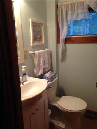 East Orleans Cape Cod vacation rental - 1st floor 1/2 bath off kitchen