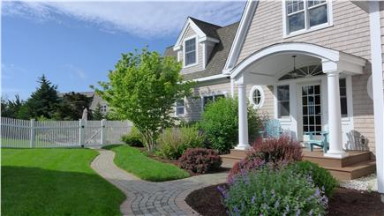 Orleans Cape Cod vacation rental - Catch the early morning sun from the Adirondack chairs