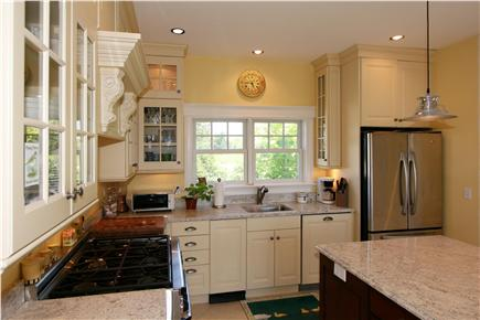 Orleans Cape Cod vacation rental - This very well stocked kitchen has a Viking 6 burner gas range