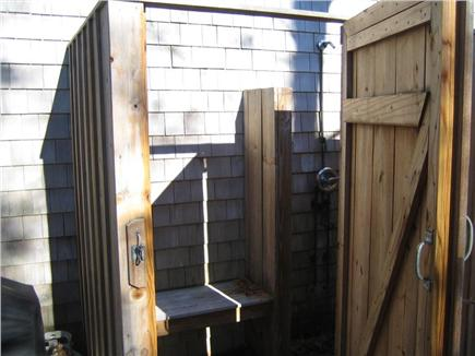 West Falmouth near Old Silver  Cape Cod vacation rental - Private outdoor shower