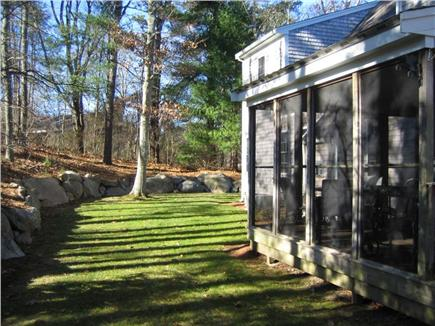 West Falmouth near Old Silver  Cape Cod vacation rental - Beautiful, sunny yard