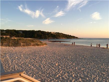 West Falmouth near Old Silver  Cape Cod vacation rental - Old Silver Beach, only .9 mile away, in late afternoon