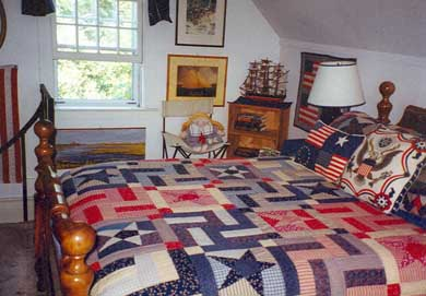 Barnstable Village Cape Cod vacation rental - The Upstairs Whale Watch Room
