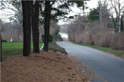 Chatham Cape Cod vacation rental - View of Oyster Pond from yard - deeded access 300 yds away