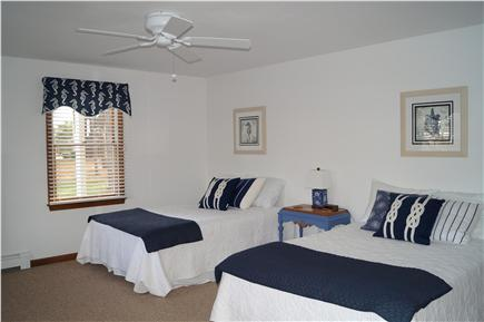Chatham Cape Cod vacation rental - Second first floor bedroom with 2 full beds