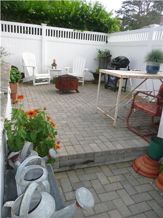 Dennisport Cape Cod vacation rental - Back Terrace