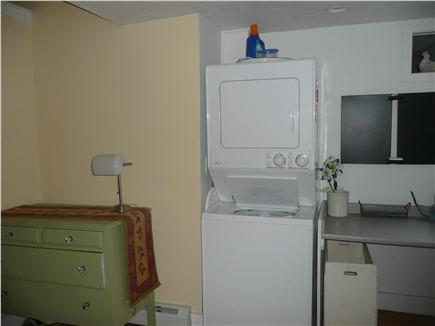 Dennisport Cape Cod vacation rental - Laundry