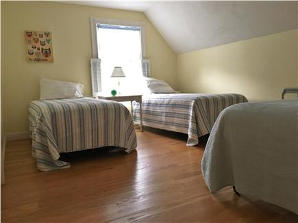Dennisport Cape Cod vacation rental - Bunk room with 3 twin beds