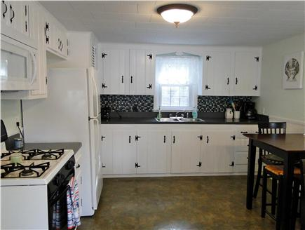 South Dennis Cape Cod vacation rental - Bright spacious kitchen with two sitting areas
