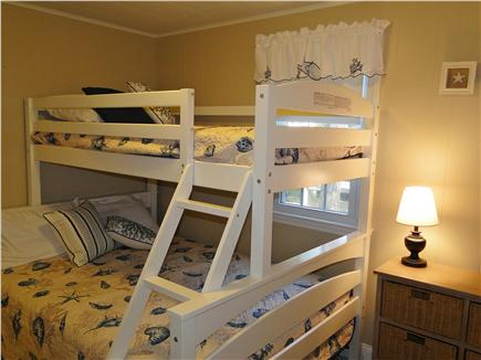 South Dennis Cape Cod vacation rental - Bunk bed room – great for kids!