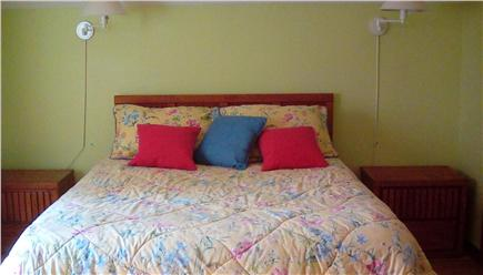 West Falmouth Village Cape Cod vacation rental - Upstairs Bedroom-Queen with crib.