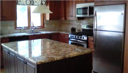 West Falmouth Village Cape Cod vacation rental - Granite countertops and stainless appliances