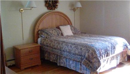West Falmouth Village Cape Cod vacation rental - Master bedroom-Queen with full (shower) bath.