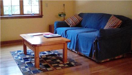 West Falmouth Village Cape Cod vacation rental - Upstairs Den with TV and DVD/VCR player
