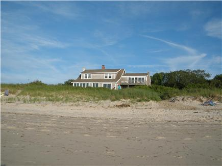 Brewster Cape Cod vacation rental - View of the house from the beach