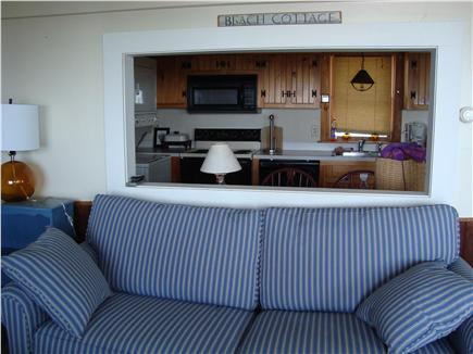 Brewster Cape Cod vacation rental - Second living room and kitchen