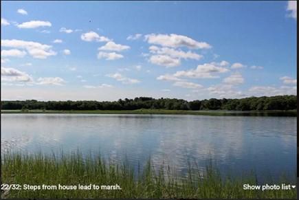 Pocasset, Bourne Pocasset vacation rental - Steps lead to marsh