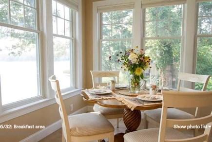 Pocasset, Bourne Pocasset vacation rental - Watch ospreys while dining.