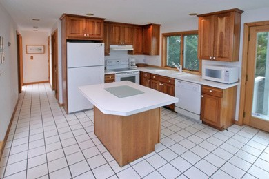 Eastham Cape Cod vacation rental - Cherry wood kitchen