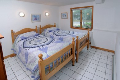 Eastham Cape Cod vacation rental - Twin bedroom on lower level