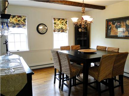East Dennis Cape Cod vacation rental - Dining room seats 8 for a fine meal