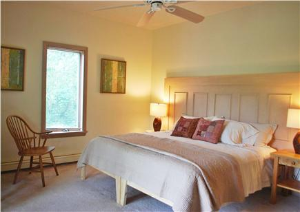 Falmouth, Sippewissett Cape Cod vacation rental - Large twin/king room with french doors to patio garden...