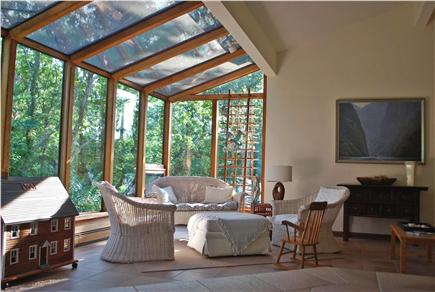 Falmouth, Sippewissett Cape Cod vacation rental - The spacious solarium to enjoy the sun and gardens
