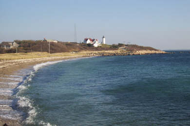 Woods Hole, Falmouth Woods Hole vacation rental - Nobska Beach and Vineyard Sound is only a 5 minute walk