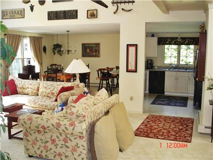 East Falmouth Cape Cod vacation rental - Kitchen and Dining area