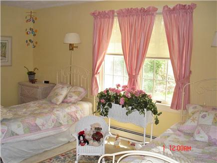 East Falmouth Cape Cod vacation rental - Back bedroom with two twin beds