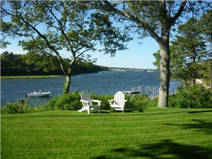 West Dennis Cape Cod vacation rental - One of the best views of the Bass River;  looking north...