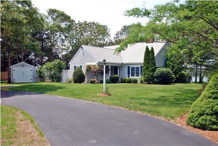 West Dennis Cape Cod vacation rental - From the driveway
