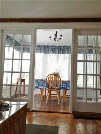 New Seabury (Mashpee) New Seabury vacation rental - Sunroom - great place to eat and admire the landscaping