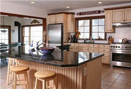 Barnstable Cape Cod vacation rental - If you're a kitchen person you found the right house!