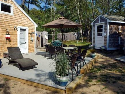 North Eastham Cape Cod vacation rental - New deck area with all new patio furniture