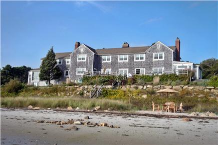 Bourne, Wareham - Little Harbor Cape Cod vacation rental - View of this magnificent home from the beach