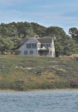 Wellfleet Cape Cod vacation rental - Rear view of the house from the water