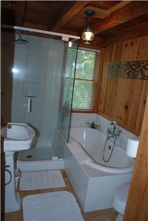 Wellfleet Cape Cod vacation rental - Main bathroom