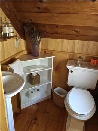 Wellfleet Cape Cod vacation rental - Half bath off of main living area