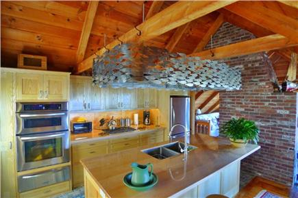 Wellfleet Cape Cod vacation rental - Another angle of new gourmet kitchen