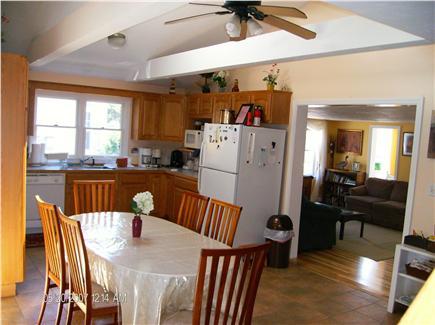 Dennis Port Cape Cod vacation rental - Partial view of 19' x 12'  Kitchen