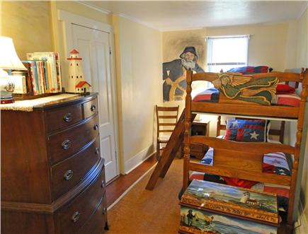 Chatham Cape Cod vacation rental - Seafaring bunks and secret chimney room