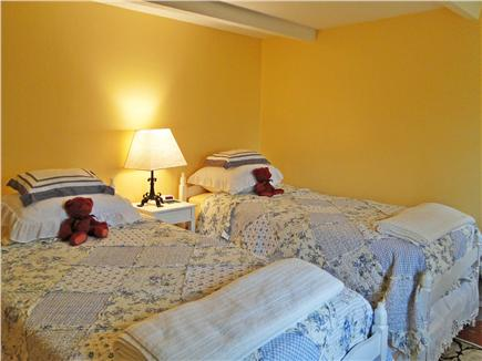 Chatham Cape Cod vacation rental - Yellow Room  - matching set of twin beds (convert to king)