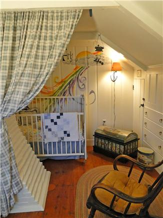 Chatham Cape Cod vacation rental - Nursery Alcove - full size crib & rollaway cot