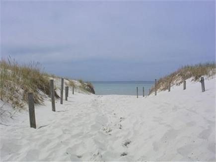 Chatham Cape Cod vacation rental - Entrance to Pleasant Street Beach, few minute stroll from cottage