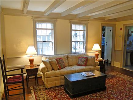 Chatham Cape Cod vacation rental - The Keeping Room with antique pine floors and beamed ceilings