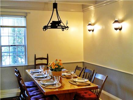 Chatham Cape Cod vacation rental - Romantic dining room with seating for 8