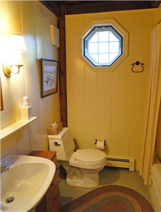 Chatham Cape Cod vacation rental - Downstairs full bath with tub and shower